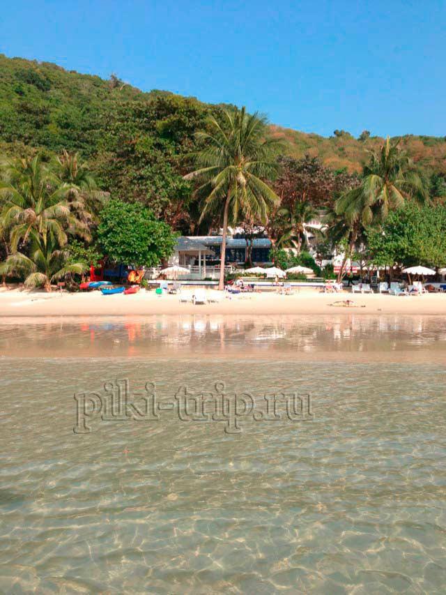 пляж бухты Ао Прао на Самете