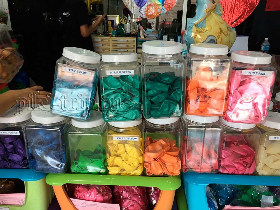 выбирайте самые яркие шары!