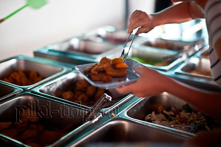 еда в буфете Ниндзя