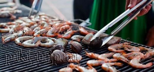 Где поесть в Паттайе? Буфет-муката ниндзя на Джомтьене фото