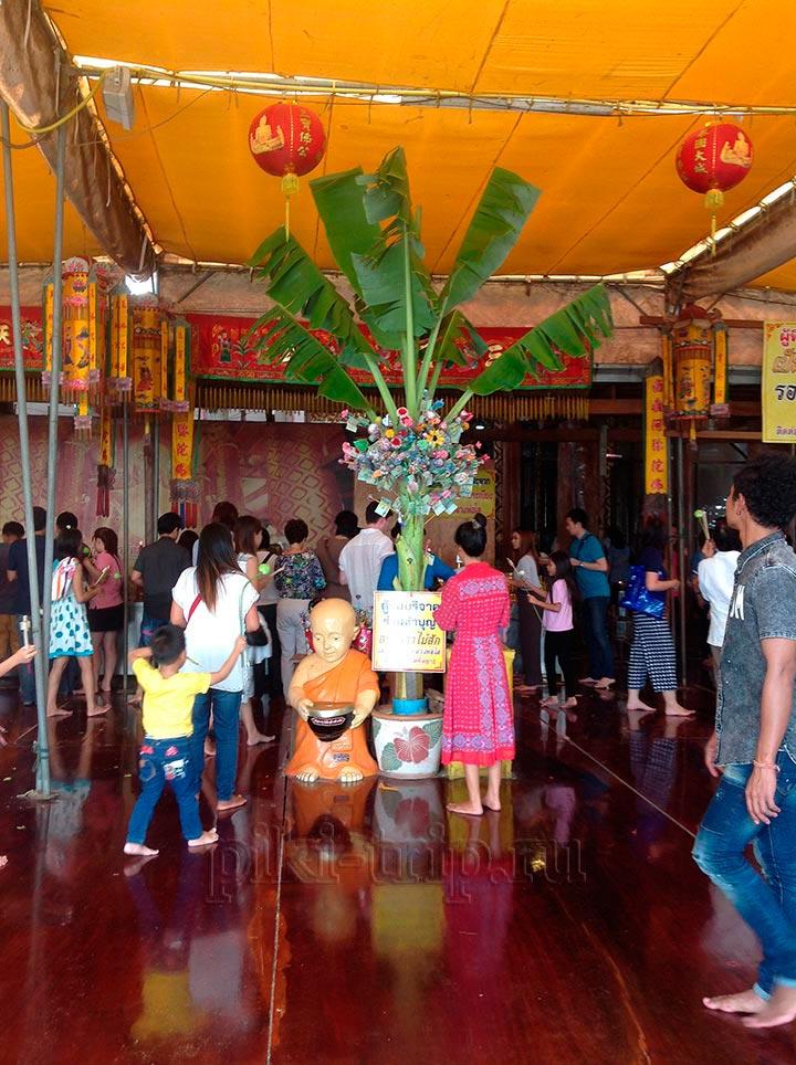 обряды тайцев в храме