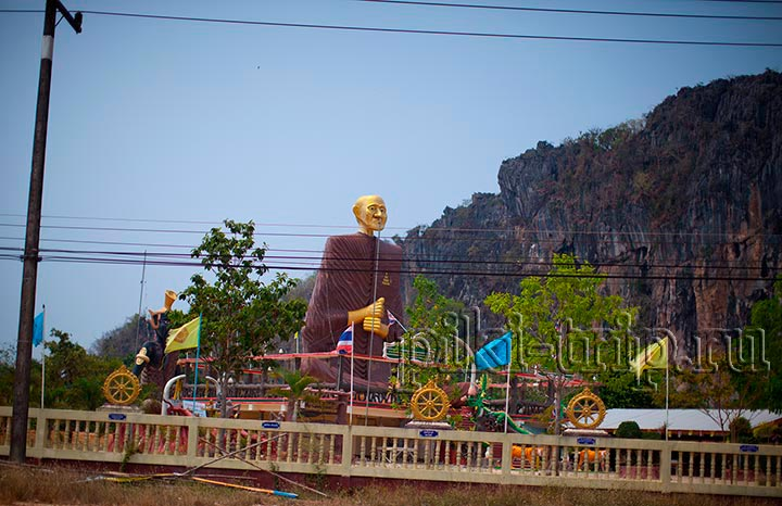 столетний монах в Кхао Ванг Кот