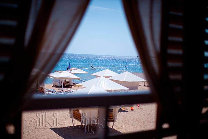 в Евпатории есть по настоящему хорошие пляжи