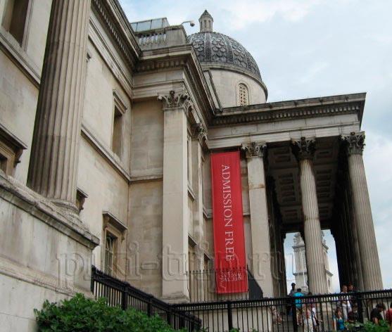 Лондон: Национальная галерея (фото)