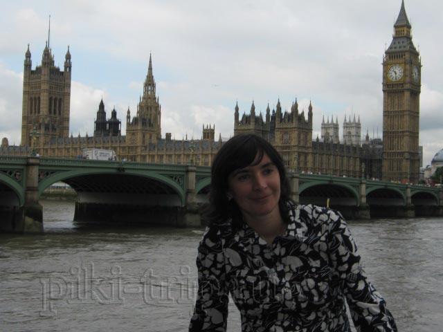 Лондон: парламент и Темза (фото)