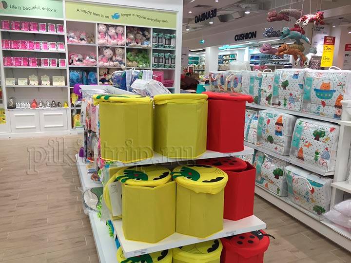 товары для детской на втором этаже Индекса