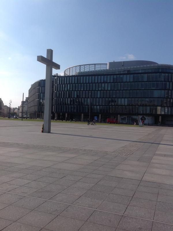 Варшава: Площадь Пилсудского (фото)