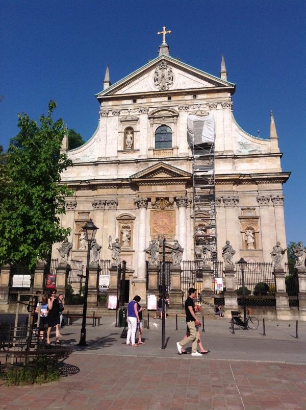 Костел св.Петра и Павла в Кракове (фото)