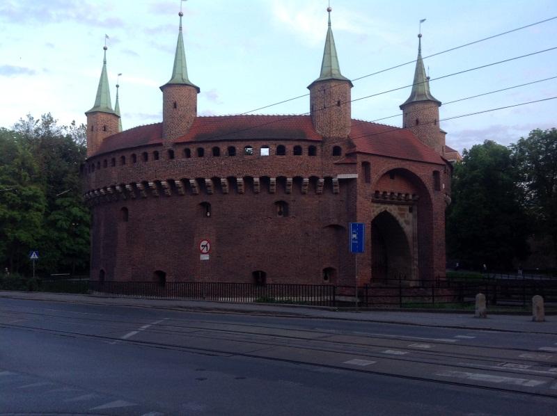 Барбакан в Кракове (фото)