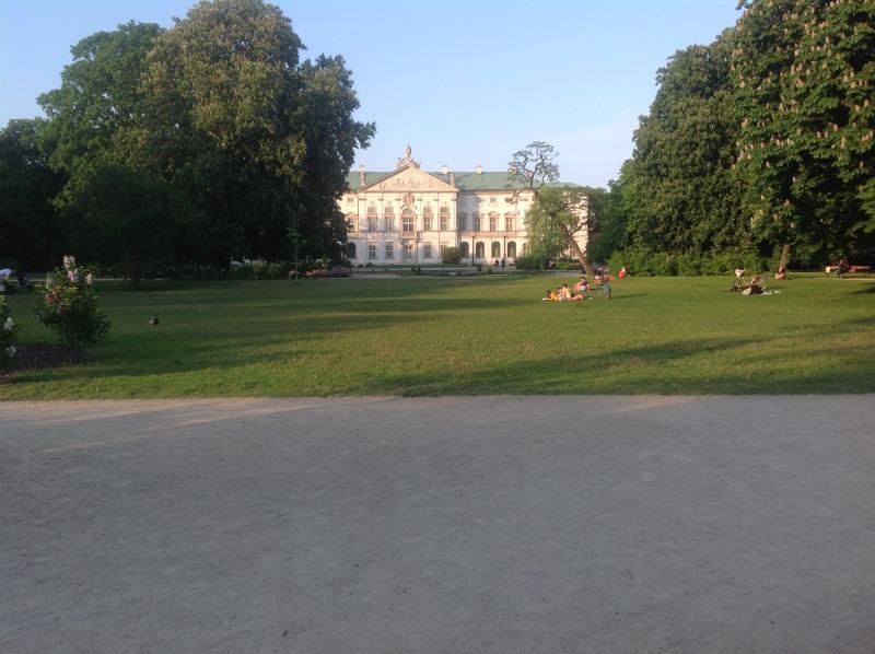 Варшава: Парк Красинских (фото)