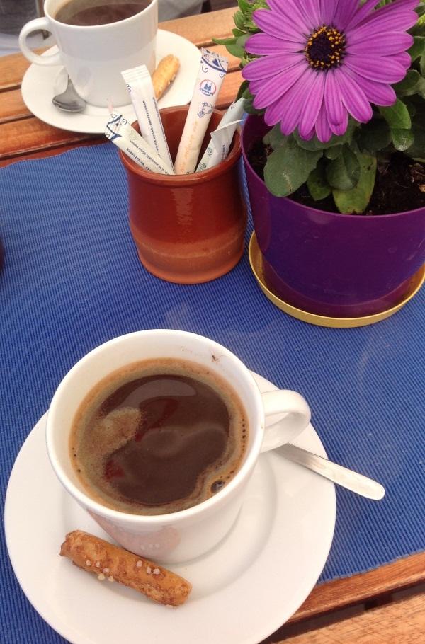 Кофе с имбирем, отведанный в Варшаве (фото)