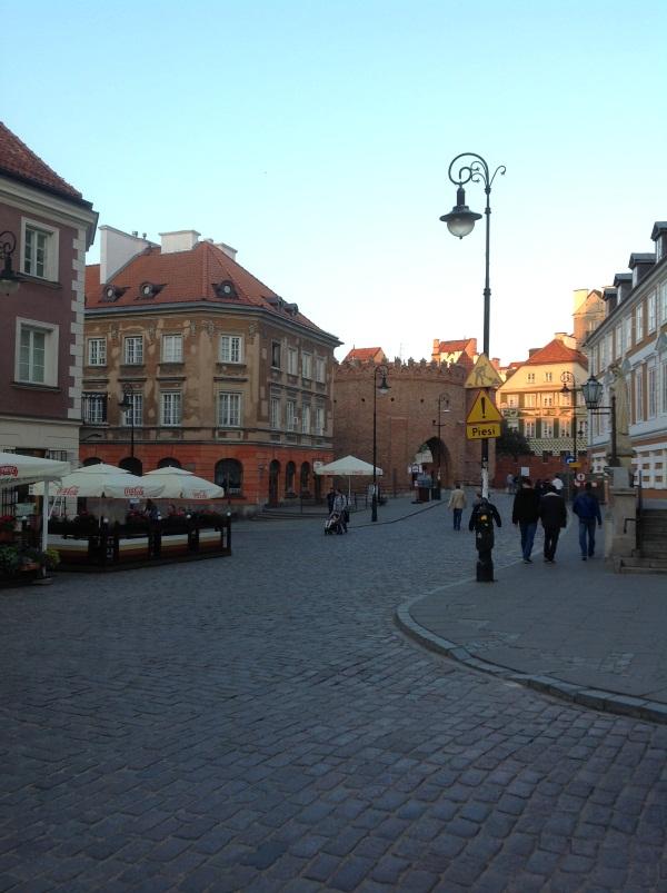 исторический центр варшавы фото