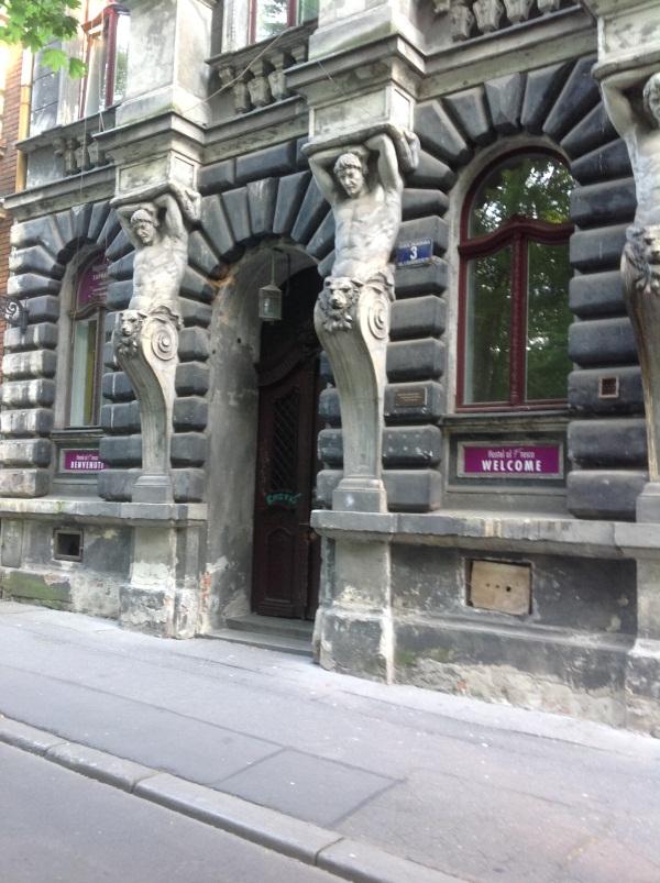 "Хостел ""Al Fresco"": вход (фото)"