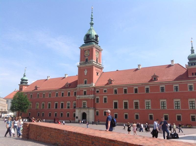 Исторический центр Варшавы: Королевский дворец (фото)