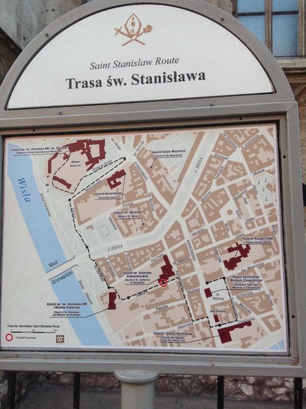 Трасса св. Станислава в Кракове (фото)