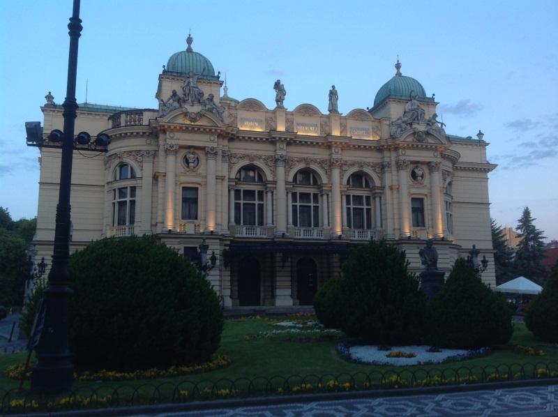 Краков достопримечательности: театр им. Словацкого (фото)