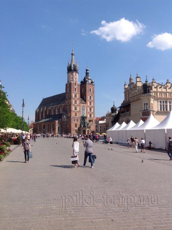 Главный рынок в Кракове