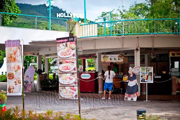 вот еще один ресторанчик, в котором в основном продают десерты и напитки