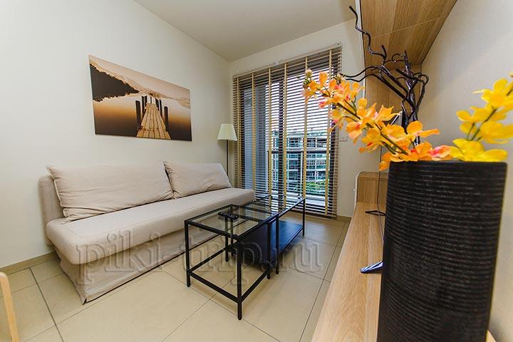 Аренда в Паттайе Юникс Unixx кондо фото квартиры 1 бедрум