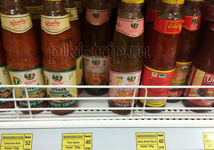 тайский сливовый соус сладкий