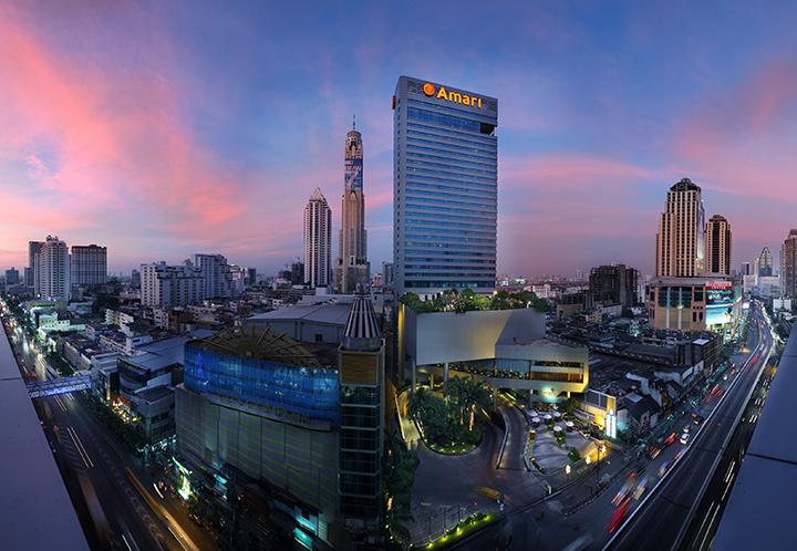 Отель в самом центре Бангкока, ровно через дорогу от Платинум Молла Амари