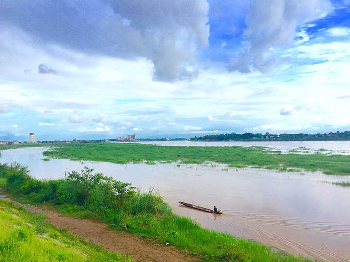 В Лаос за тайской визой Вьентьян