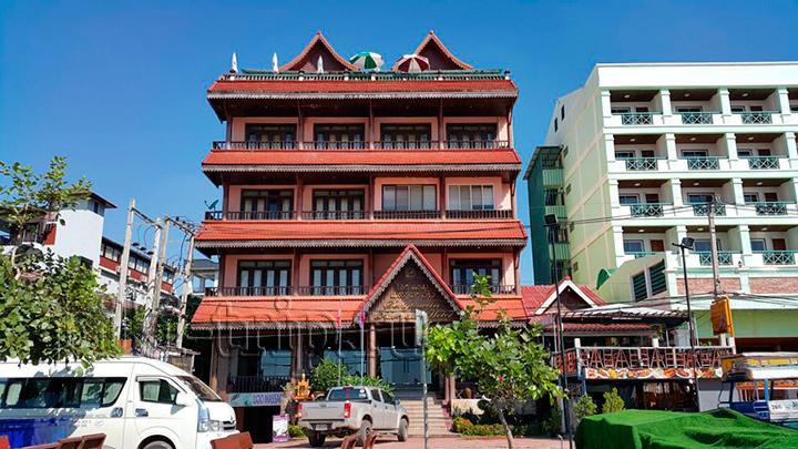 Гостиница в Лаосе в которой нас поселили