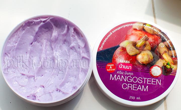 тайский крем для тела с Мангустином