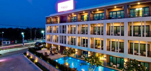 отель Trio Hotel Pattaya
