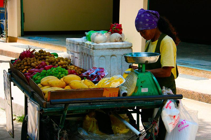 цены на еду в Паттайе и на Пхукете