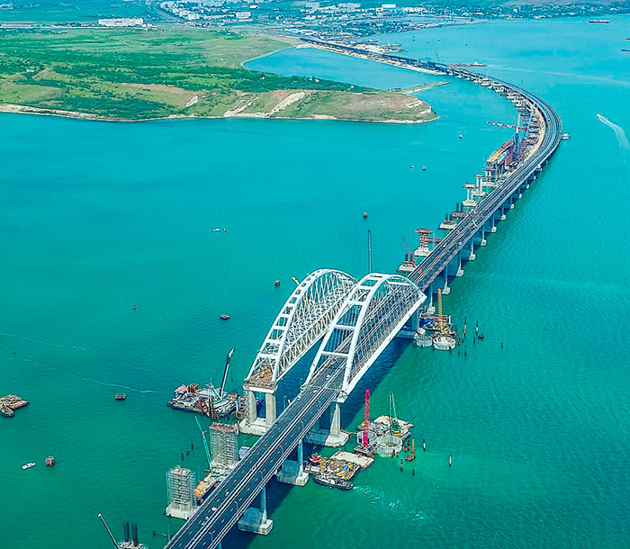 строительство крымского моста завершилось успешно