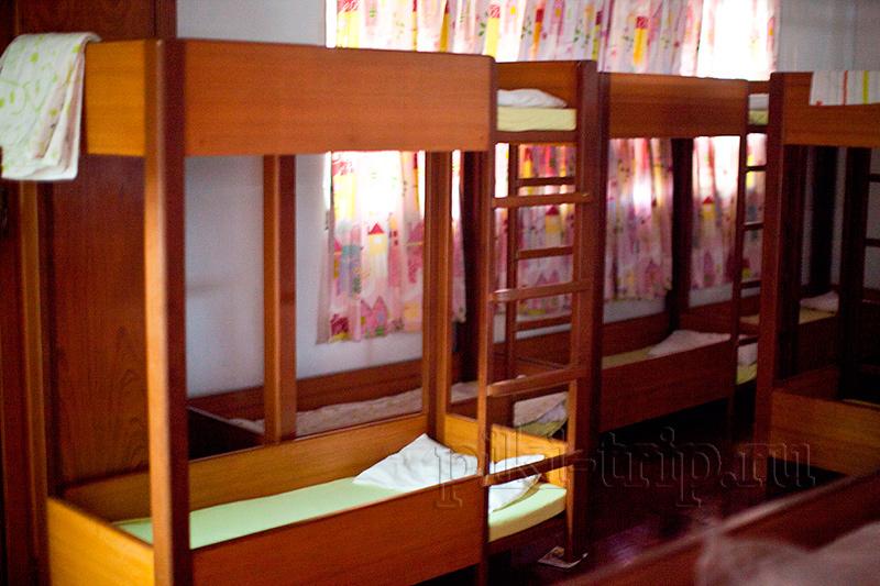 у каждого ребенка есть свое спальное место