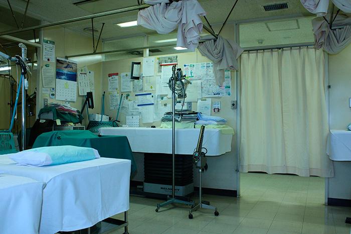 Типичный госпиталь в Таиланде
