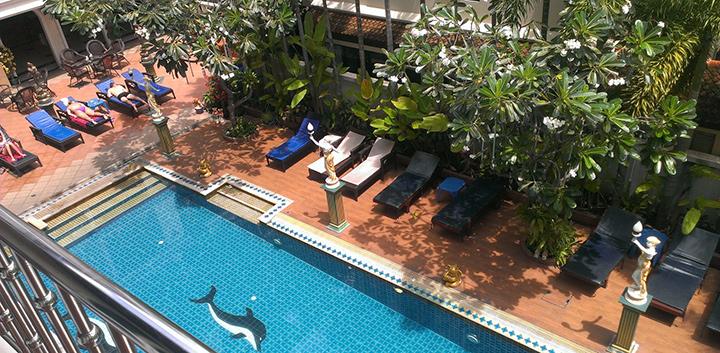 бассейн в отеле Рита Резорт