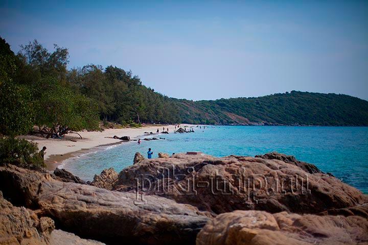 Фото Паттайи пляж Хат Нанг Рам