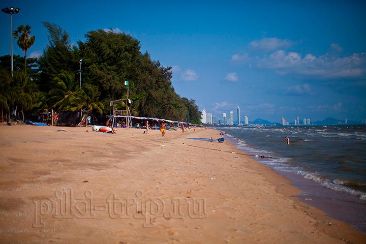 Фото Паттайи пляж Донгтан