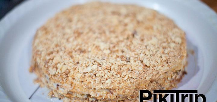 крем торт наполеон пошаговый рецепт с фото