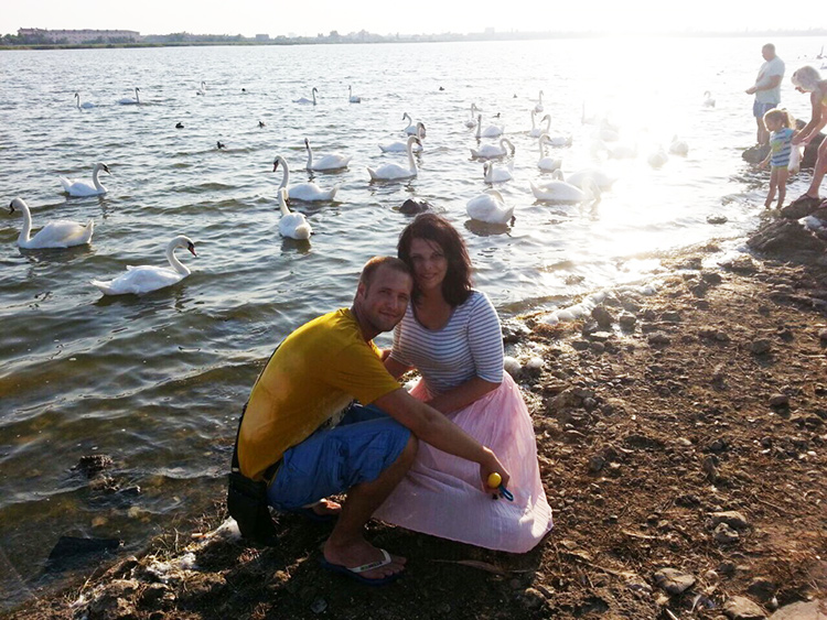 Розовое озеро в Крыму Евпатория Фото