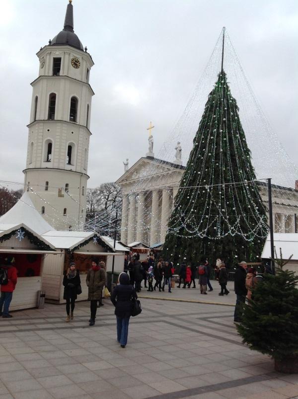 Достопримечательности Вильнюс: Колокольня (Фото)