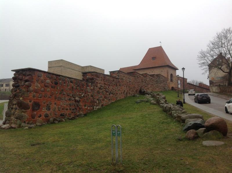Достопримечательности Вильнюс: Артиллерийский бастион (Фото)