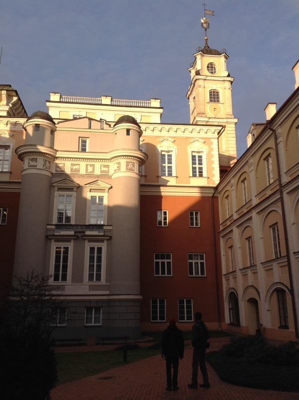 Вильнюсский университет: Двор обсерватории (Фото)