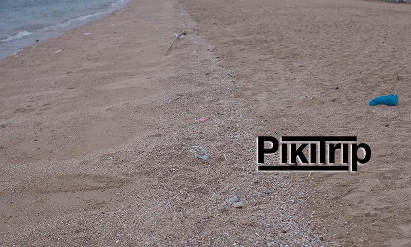 песок-на-пляже-Бан-Ампур-фото-Паттайя