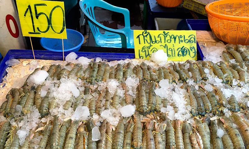 Рыбный рынок на Наклуа в Паттайе
