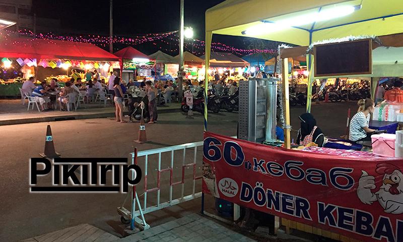 шаурма на рынке Джомтьен