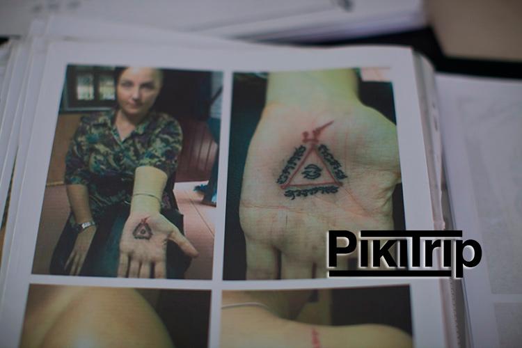 Сак Янт магическая татуировка