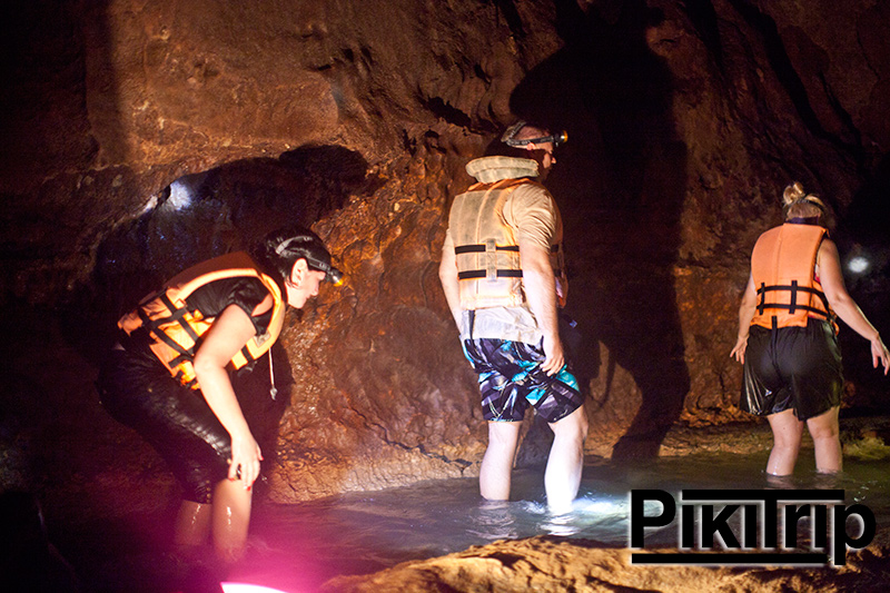 сплав в пещерах