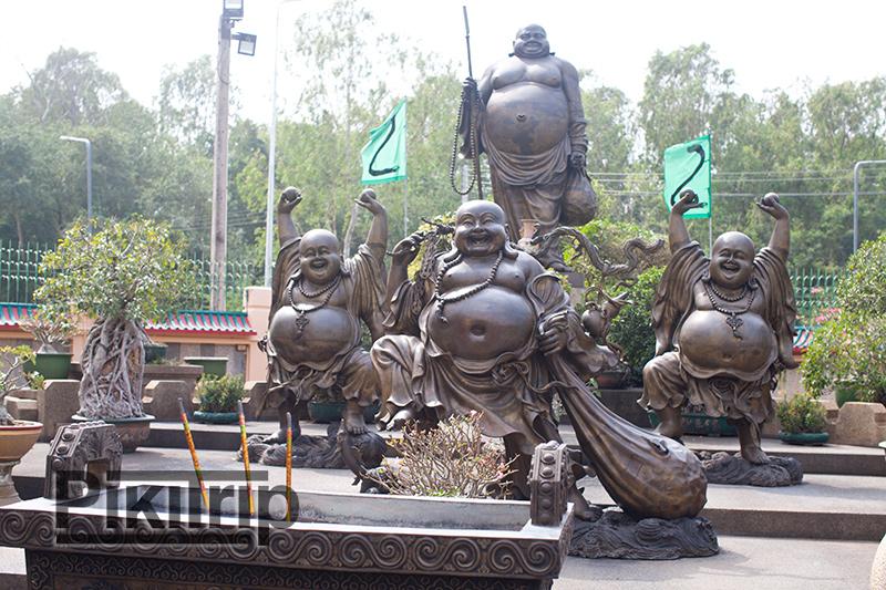 Китайский храм Вихарнра Сиен