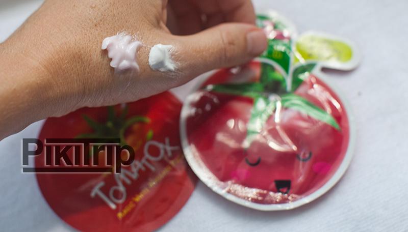томатные слипинг маски smooto и tomatox
