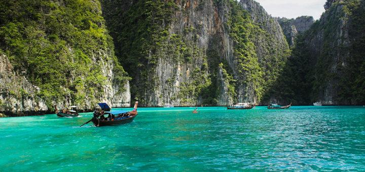 Знамениты Тайский пляж из фильма с Леонардо Ди Каприо получает туристический тайм-аут