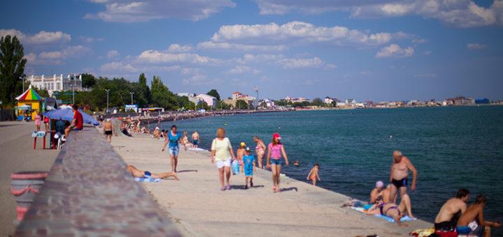 Единственный в России детский пляж открыт в Крыму